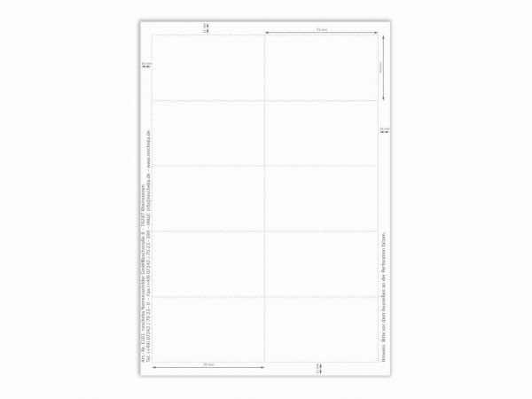 Papiereinlage E101