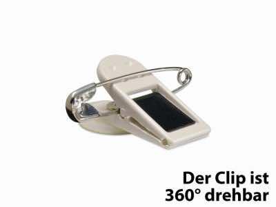 Clip 360° mit Sicherheitsnadel
