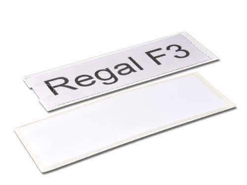 Regalschild R92-1