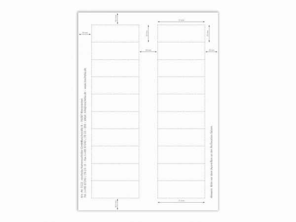 Papiereinlage E122