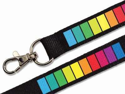 Schlüsselband 20 mm bedruckt
