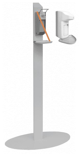 Desinfektionsmittelständer mit automatischem Spender