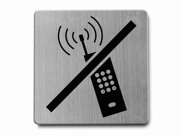 "Piktogramm ""Handy verboten"""