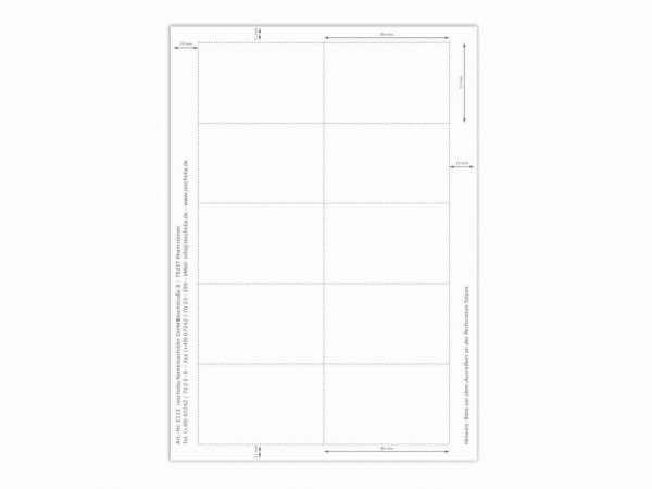 Papiereinlage E113 weiß