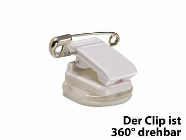 Kombi-Clip 360° einrastend drehbar