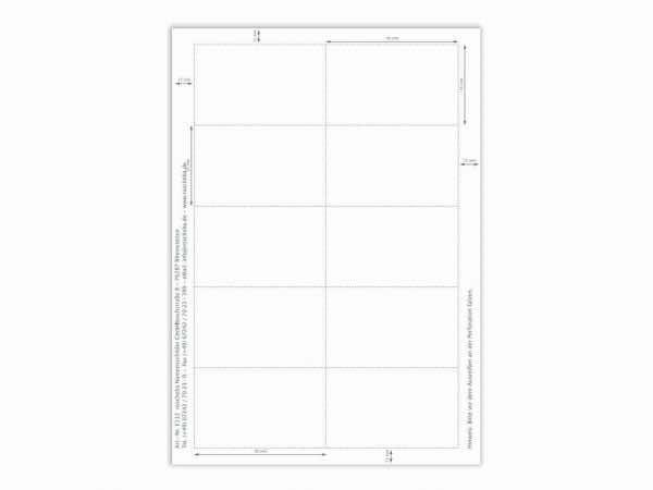Papiereinlage E112