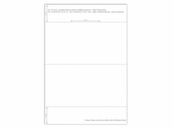 Papiereinlage E127